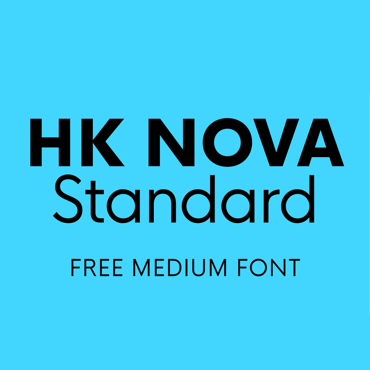 Hk Nova Medium Is Free To Use On Your Personal And Commercial Projects View