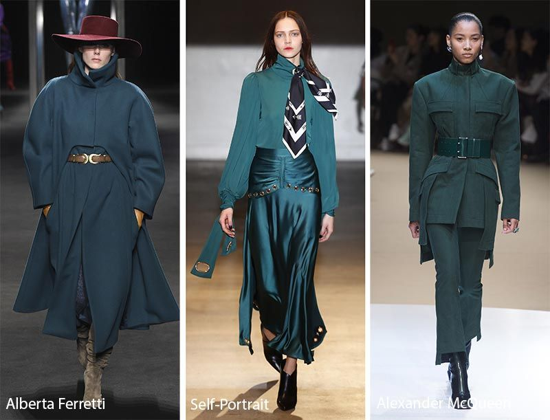 Fall/ Winter 2018-2019 Color Trends | Fashion 2018 trends ...