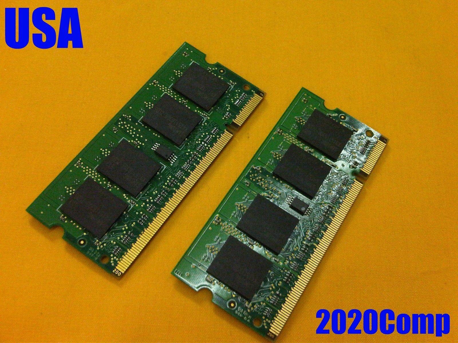 1gb 2 X 512mb Ram Memory Tested Acer Aspire 5532 5516 5517 Ddr2 Pc 6400 Dan 5300