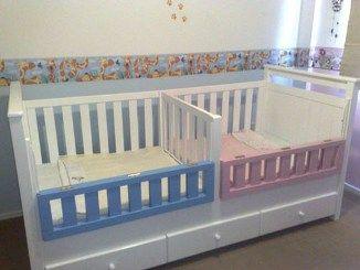 Dobles baby en 2019 baby bedroom baby cribs y twin cribs - Cunas para bebes gemelos ...