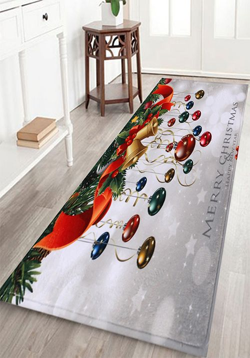 Bathroom Antiskid Christmas Ball Area Rug Bath Rugs Bath And Toilet - Quality bath rugs for bathroom decorating ideas