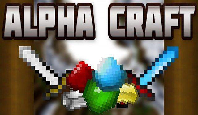 minecraft alpha texture pack
