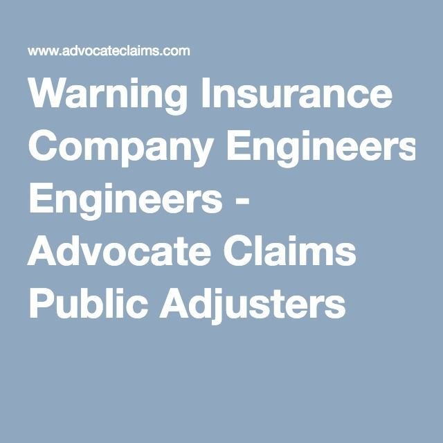 Warning Insurance Company Engineers Insurance Company Insurance Engineering