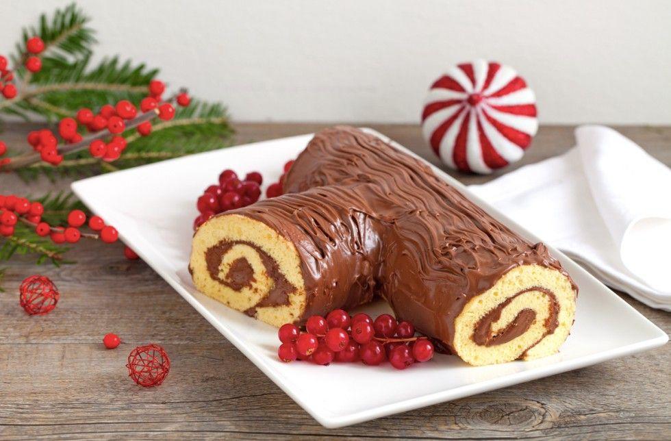Tronchetto Di Natale Cucchiaio D Argento.Tronchetto Di Natale Alla Nutella