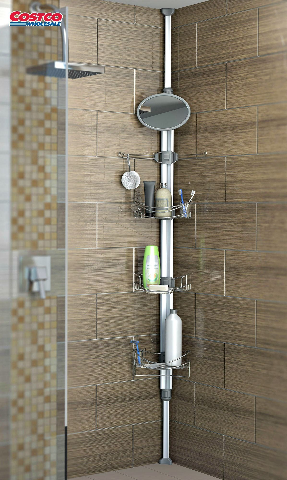 Monsoon II Shower Caddy by Artika Keep your shampoo and conditioner ...