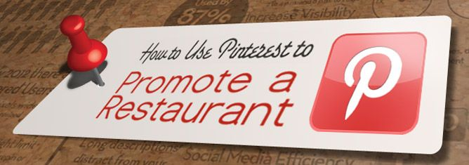 pinterest para promocionar restaurantes