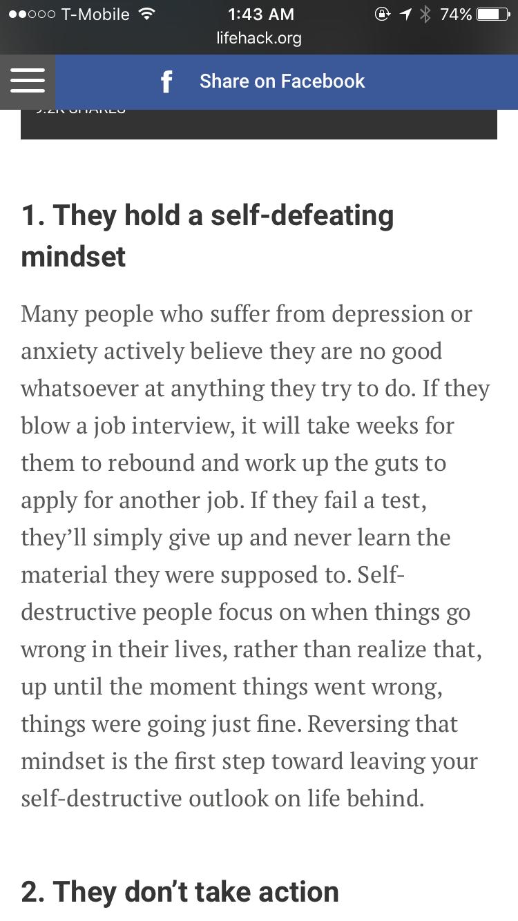 How is destructive behavior, and how it is dangerous for humans