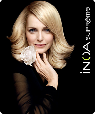 In 2011, LOréal Professionnel launched INOA Suprême, the first ammonia-free age-defying haircolor with revolutionary INOA technology. INOA Suprême contains built-in double reflect shades with coverage that perfectly complements the complexion.