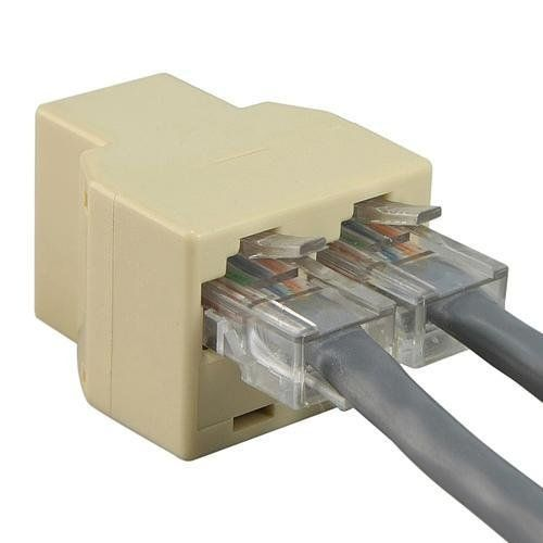 Internet Cable Splitter Connector Adapter - Ethernet Network www ...