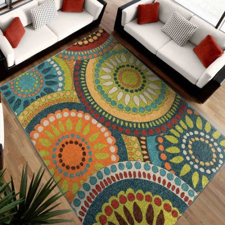 Home Area Rugs Modern Area Rugs Colorful Rugs