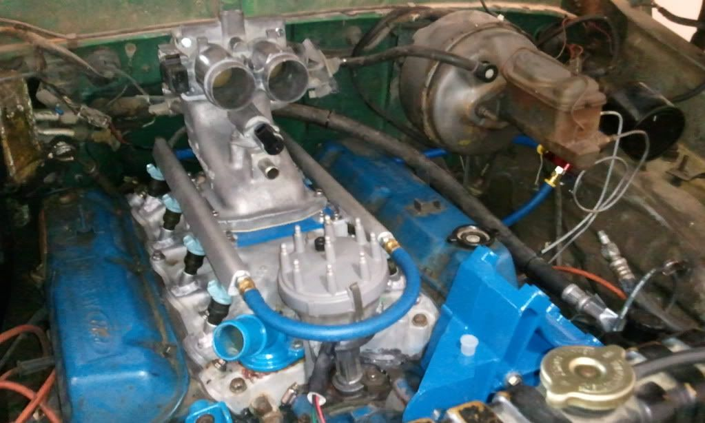 big block ford fuel injection intake - Google Search | 460