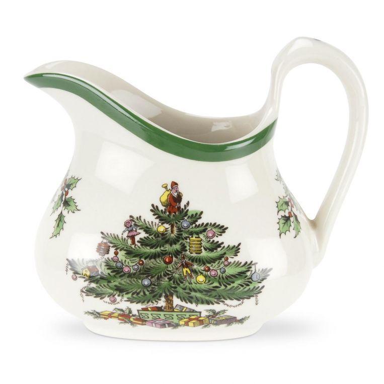 Spode Christmas Tree Cream And Brandy Sauce Jug Spode Christmas Tree Spode Christmas Victorian Christmas Tree
