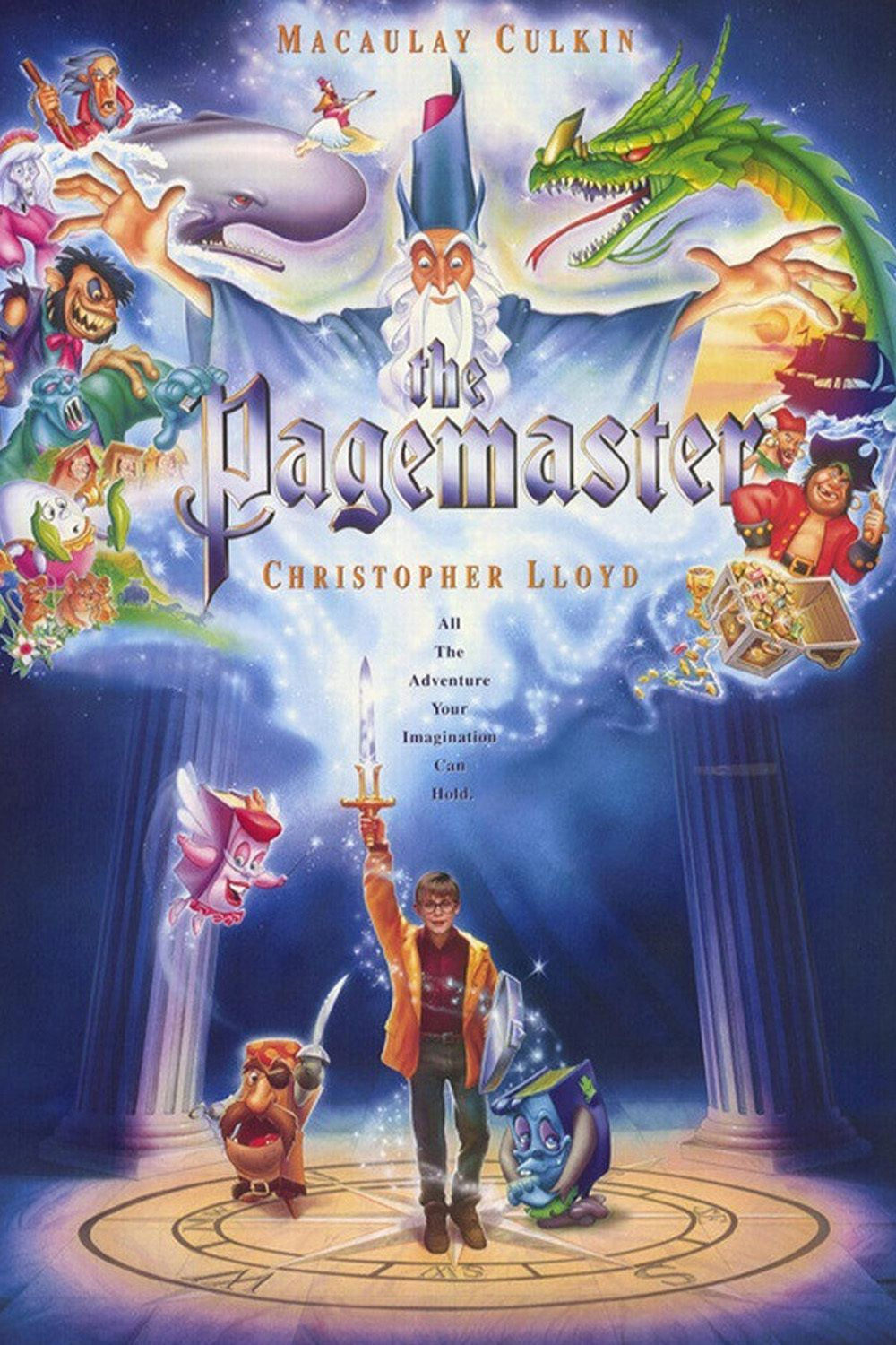 The Pagemaster (1994) The pagemaster, Full films, Movies