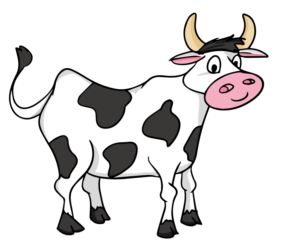 16+ Black and white cow clipart free info