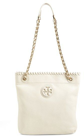 e7b505ca7 Tory Burch 'Marion' Leather Bookbag on shopstyle.com | things to buy ...