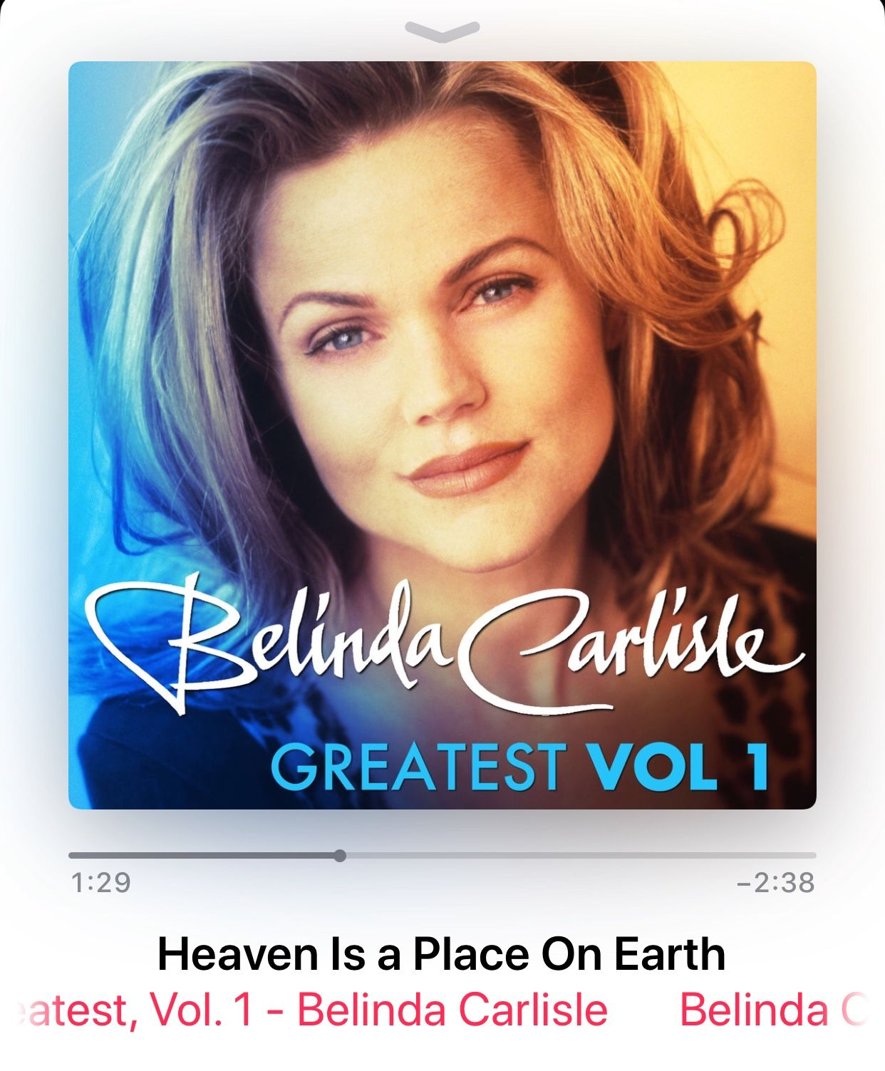Heaven Is A Place On Earth By Belinda Carlisle Belinda Carlisle Carlisle Summer Rain
