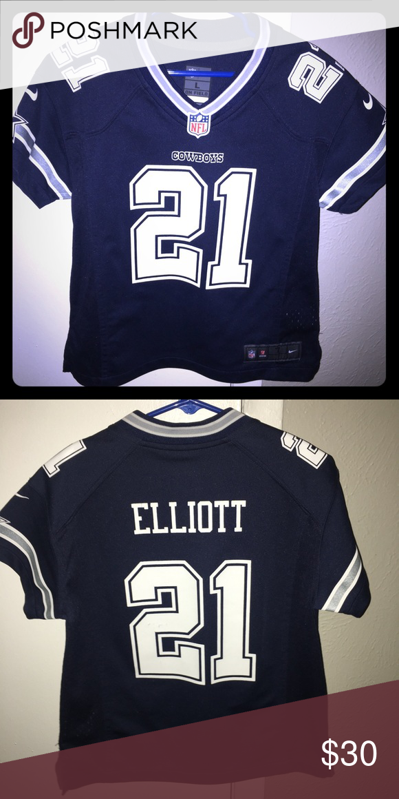 b5b886cc Authentic Dallas Cowboys Jersey Boy or Girl Kids Dallas Cowboys ...