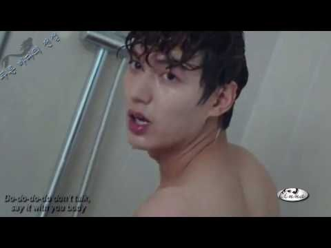 ™Lee Min-ho Shower Time ~ Say It With Your Body 푸른 바다의 전설 - YouTube