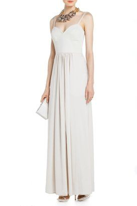 kyra bustier evening gown  evening gowns gowns white