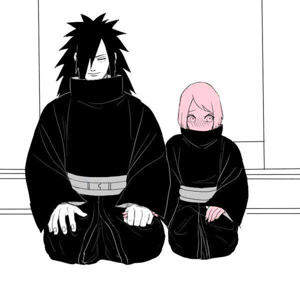 Madara and Sakura | Sakura Haruno | Naruto, Anime naruto ...  Madara and Saku...