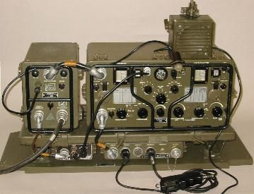 The AN-GRC-3030, a Dutch military HF-set dating from the