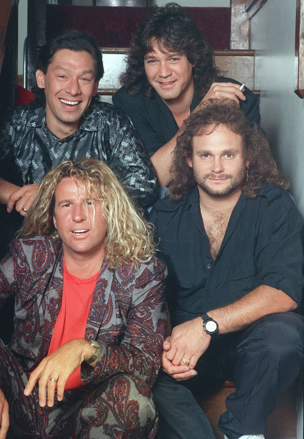 Sammy No Offense But Vh Without Diamond Dave Just Annoyed Me Van Halen Eddie Van Halen Red Rocker