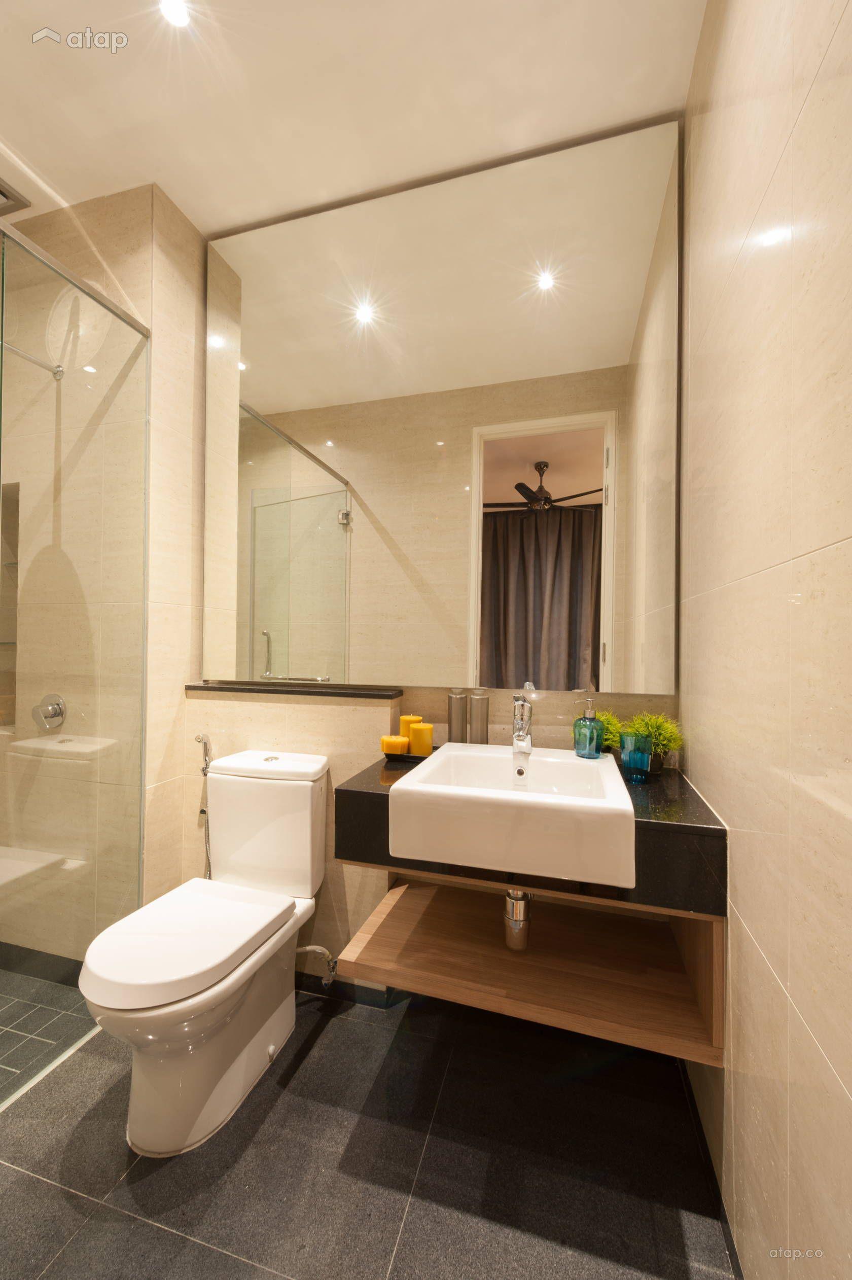 Contemporary Modern Bathroom Condominium Design Ideas Photos Malaysia Atap Co Modern Bathroom Modern Bathroom Tile Bathroom Design Small