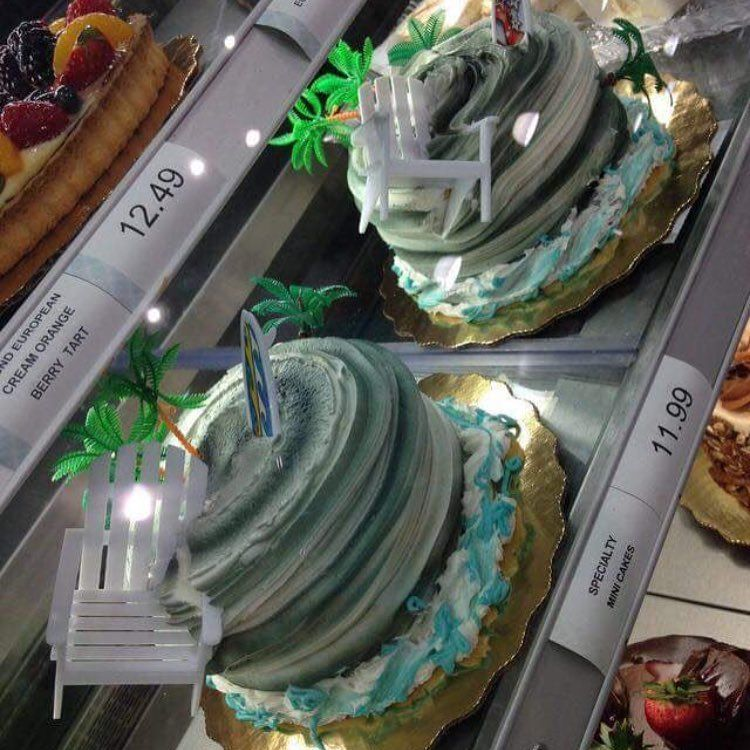 Hurricane Irma-Themed Cakes Have Hit Florida Grocery Stores | HuffPost #hurricanefoodideas