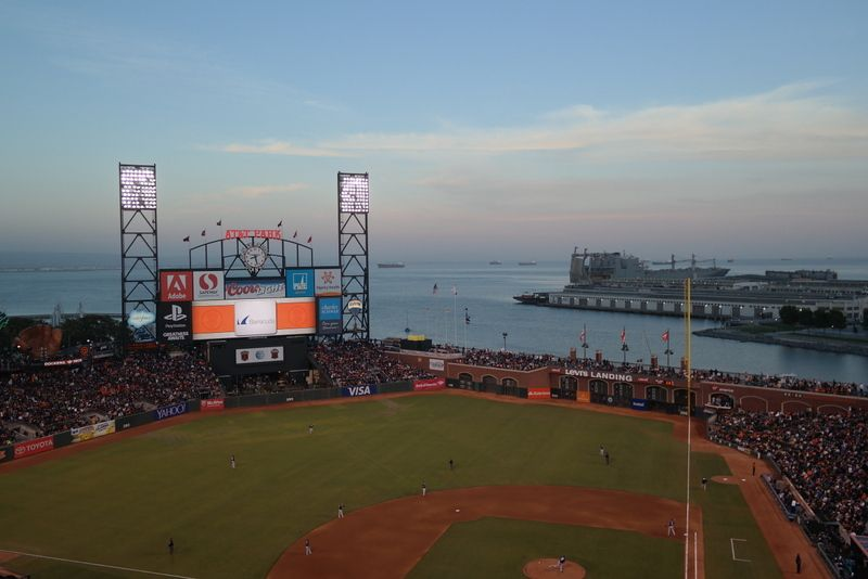 AT&T Park, one of the most beautiful ballparks I've seen.