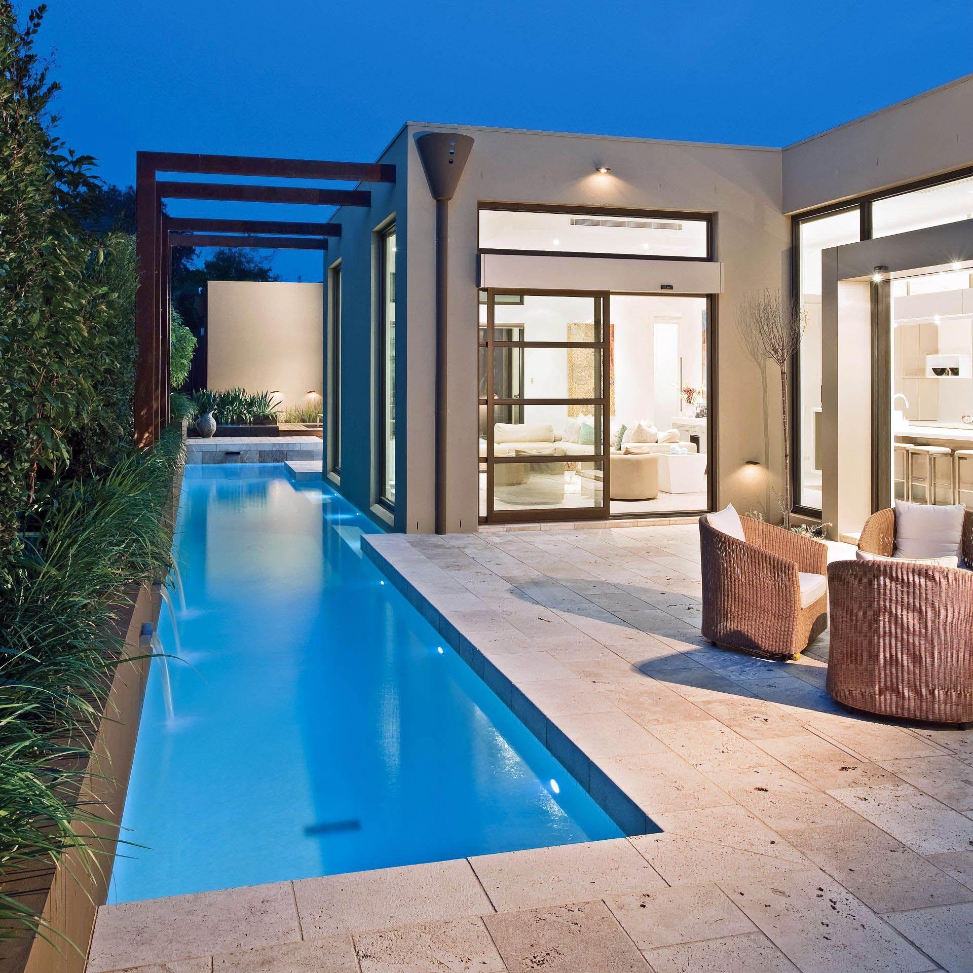 Cute Indoor Mini Swimming Pool Just On Neuron Home Design Luxury Swimming Pools Luxury Pool Backyard Pool
