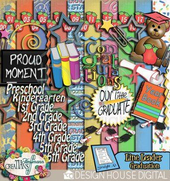 Straight Au0027s - Line Leader Graduation Kit  - line leader
