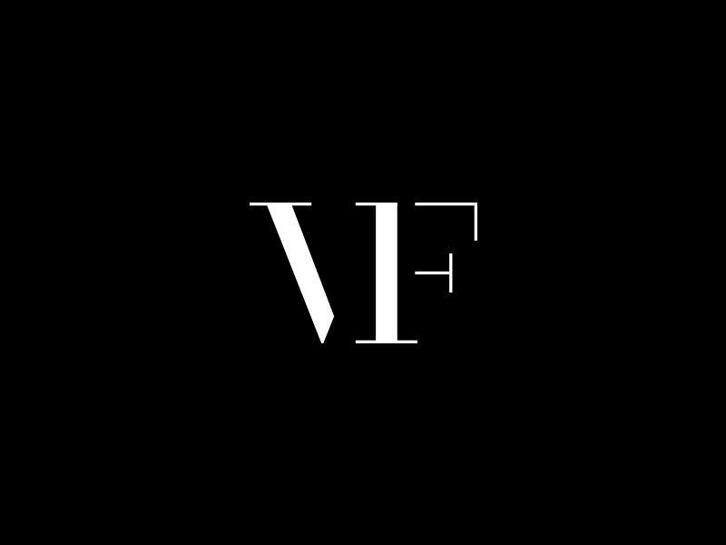 Vf Monogram Logotipo De Monograma Design De Cartao De Visita Design De Identidade De Marca