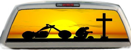 Praying Biker- 17 Inches-by-56 Inches- Compact Pickup Truck- Rear Window Graphics Crabtree Signs,http://www.amazon.com/dp/B00C0YKTDW/ref=cm_sw_r_pi_dp_nd7etb1M7K89QJ7A