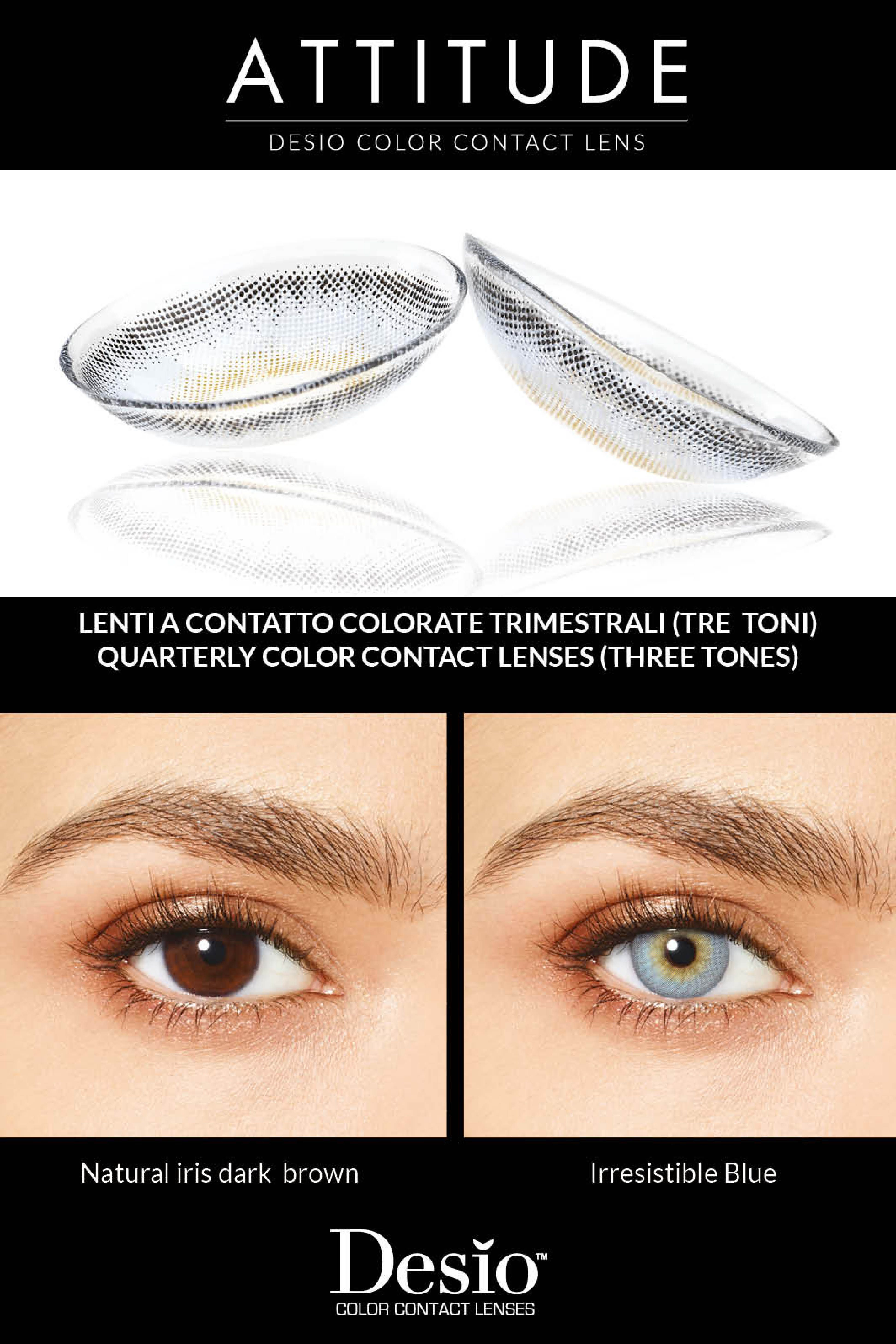 Irresistible Blue Contact Lenses Colored Coloured Contact Lenses Contact Lenses