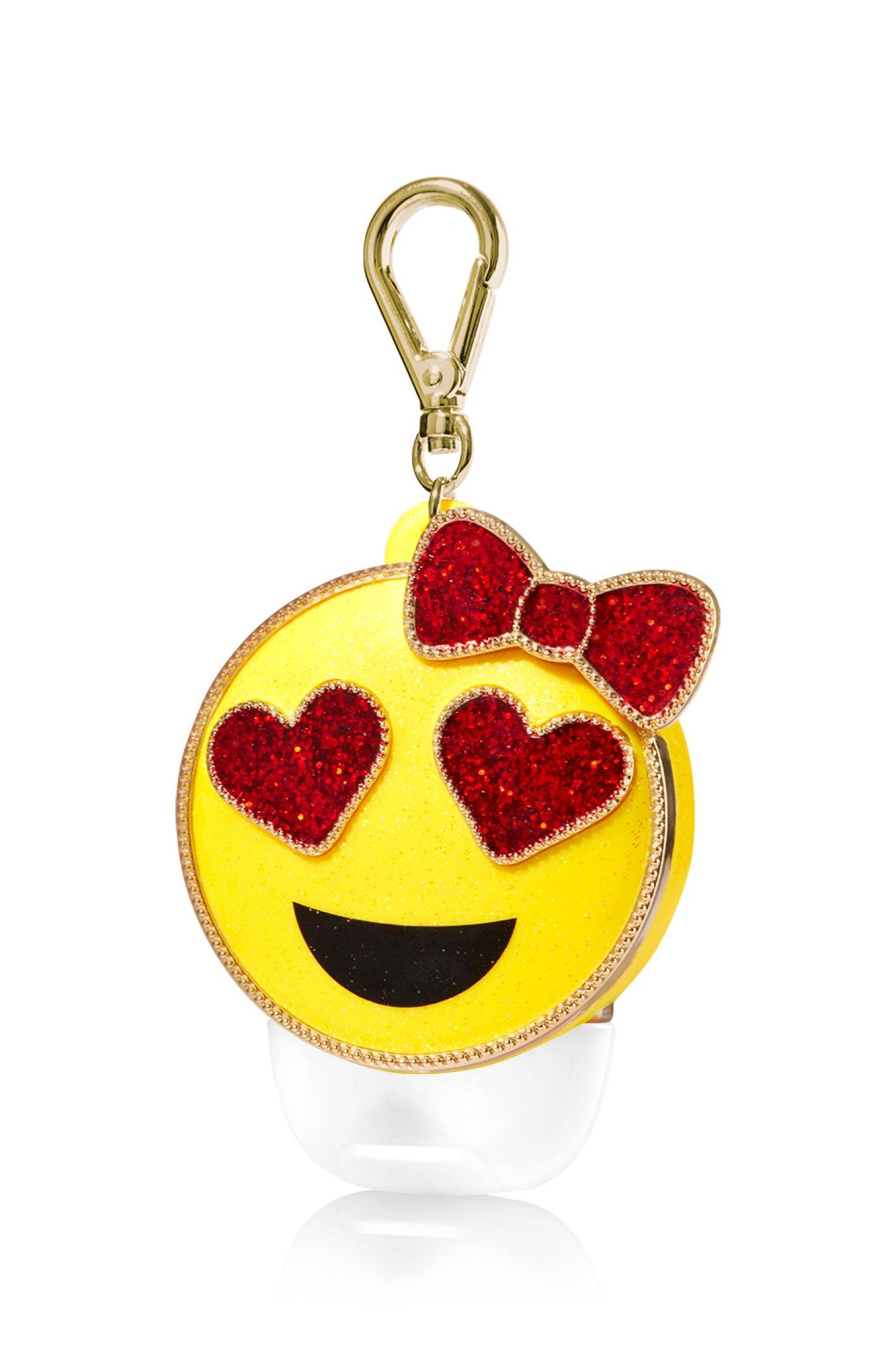 Heart Eye Emoji Pocketbac Holder Bath Body Works Bath Body