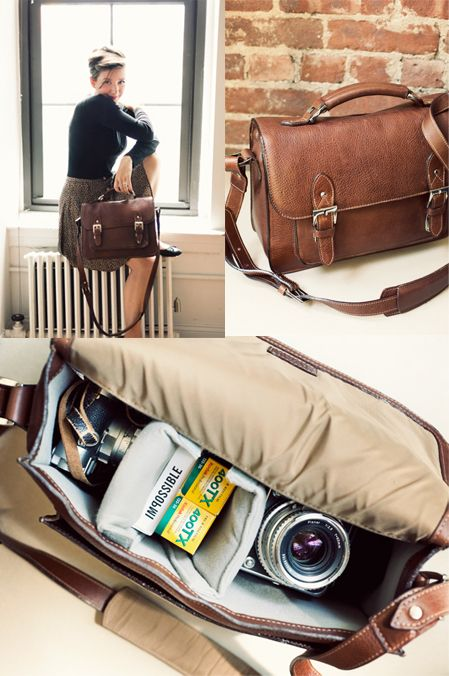 nice camera bag Jamie Beck with ONA | Leather camera bag