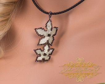 Swarovski Crystal Necklace Set Black White Jewelry Seed ...