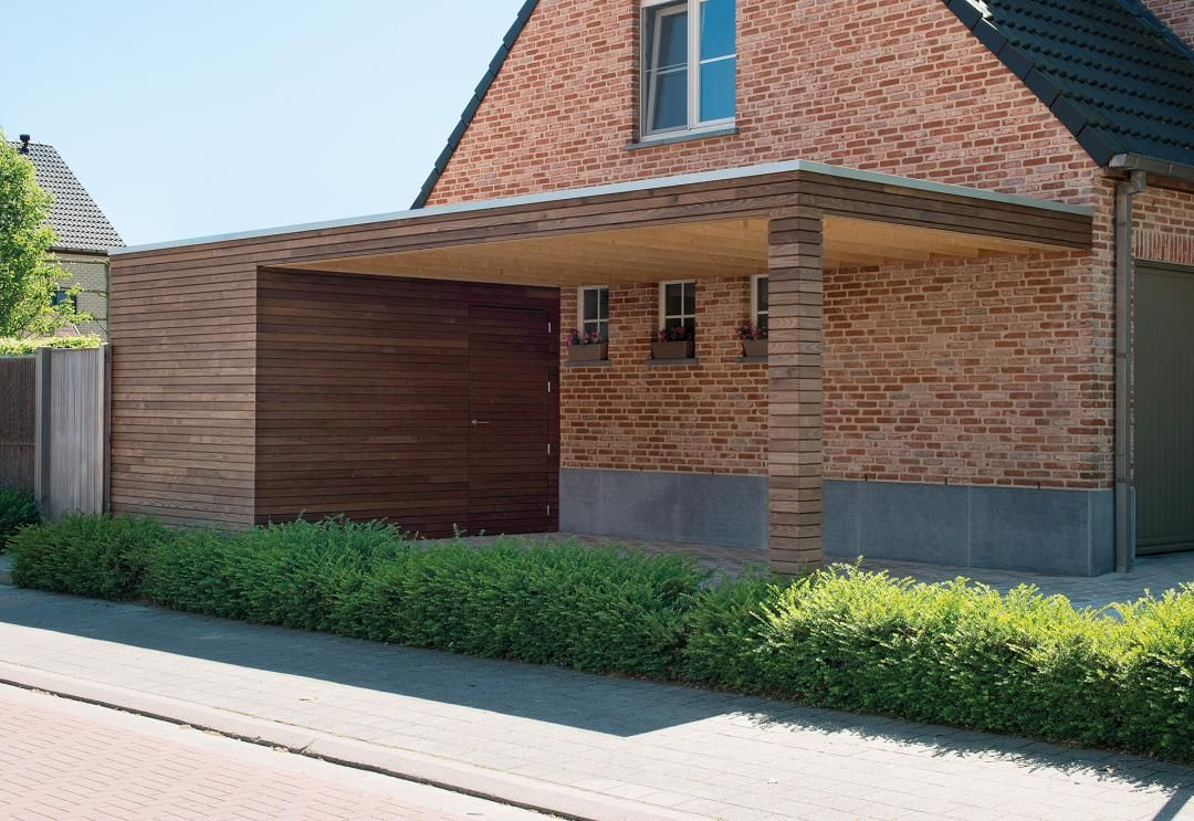 the modern carports in timber from livinlodge rsquo s pure line house