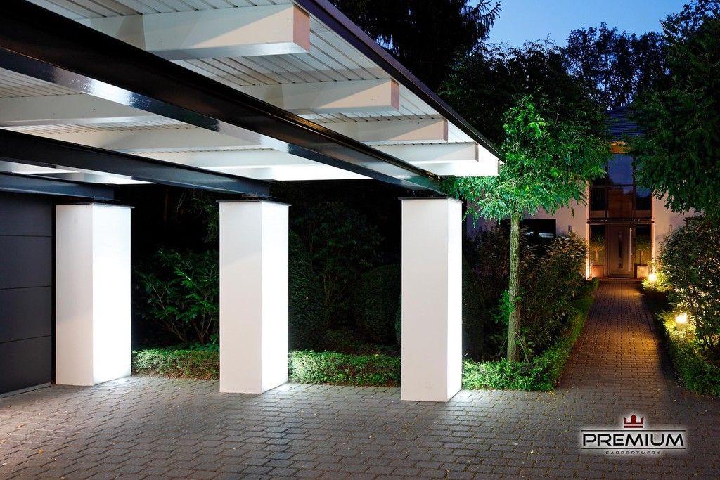 Meincarport De Carports Bauhaus Stahl Aussengestaltung Carport Mit Abstellraum Haus Aussen