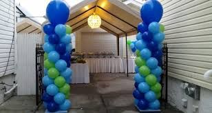 Resultado de imagen para balloon decoration columns