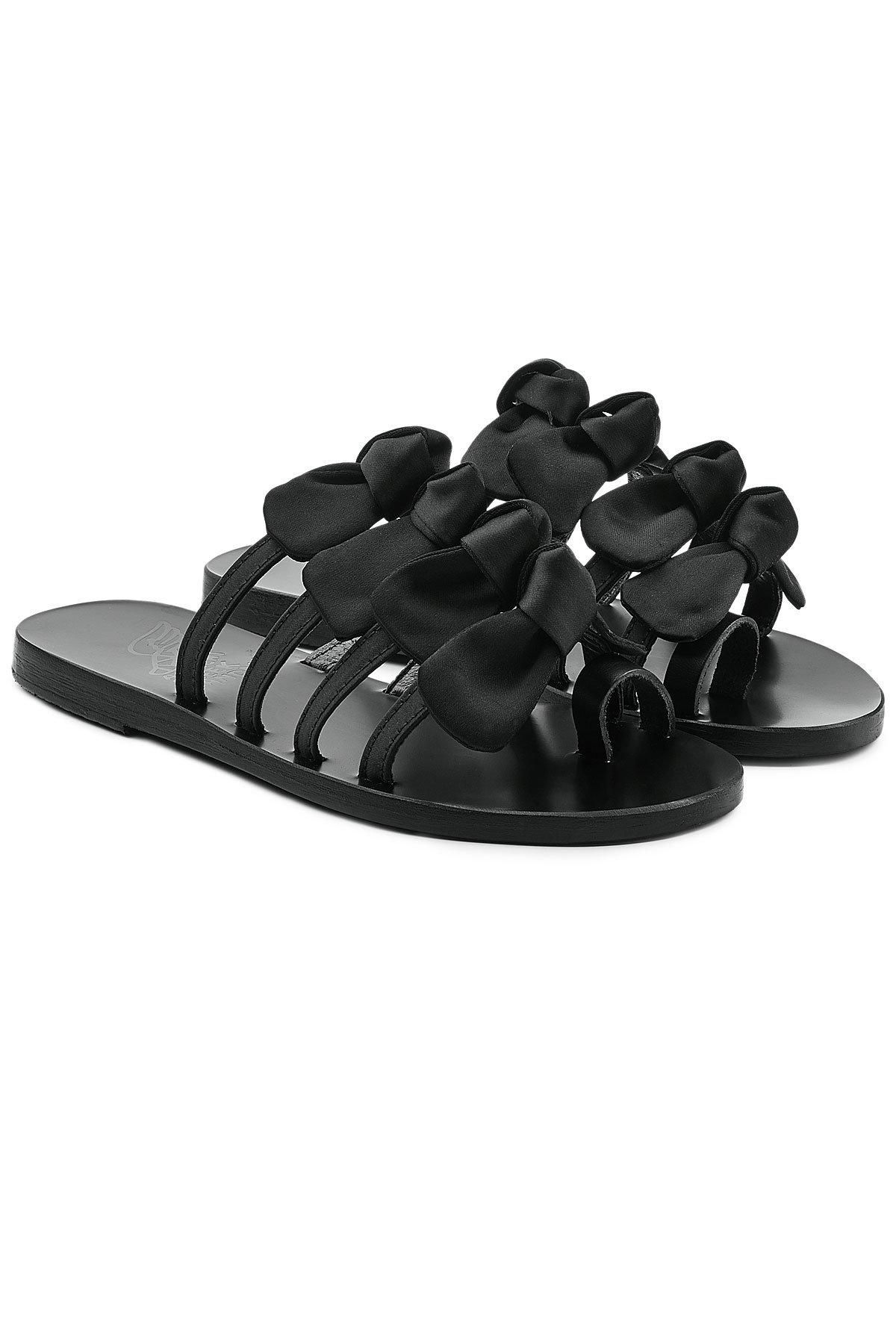 Hara sandals - Black Ancient Greek Sandals Mejr7r