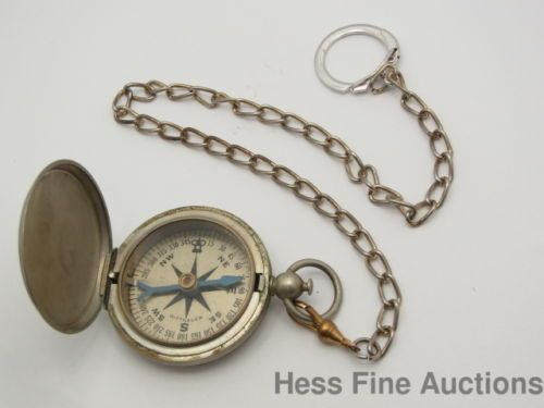 Daily Limit Exceeded Pocket Compass Wittnauer Chain