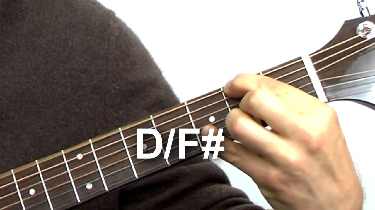 Beginning Guitar Quick Tip 5 Slash Chords Guitar Learning