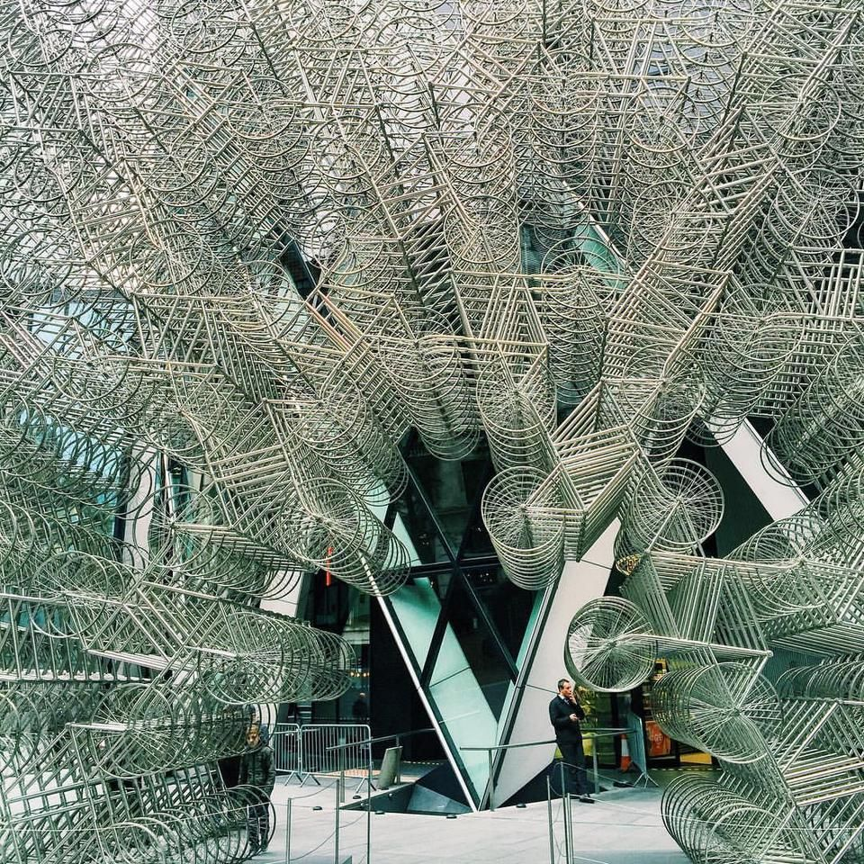30 St Mary Axe (The Gherkin) - Aldgate - 런던, Greater London