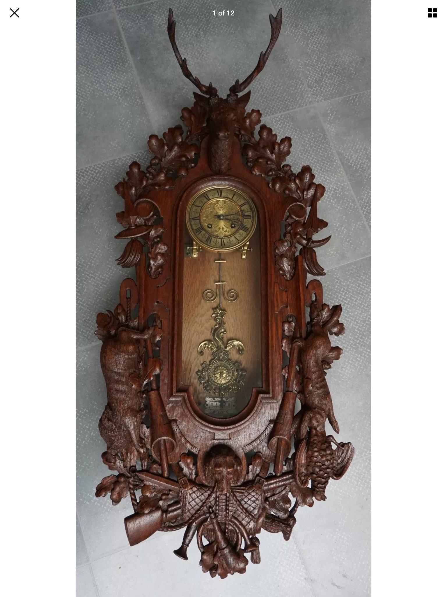 Pin By David Wilson On Vienna Regulators Antique Wall Clock Luxury Clock Clock