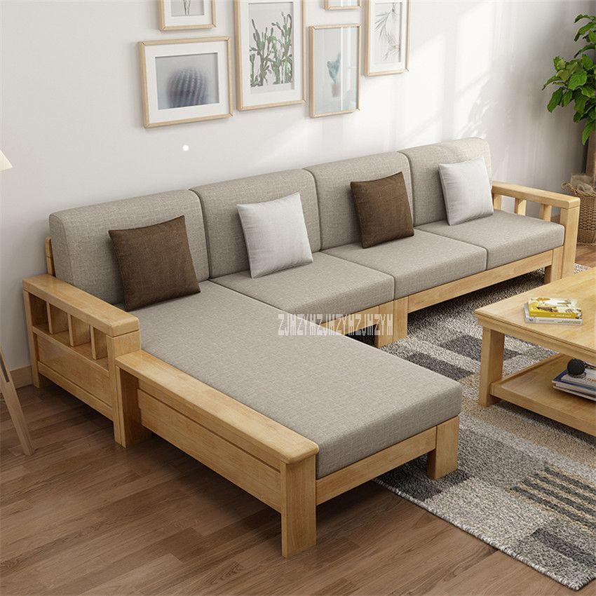 Wooden Furniture Living Room Furniture Wooden Sofa Design In 2020