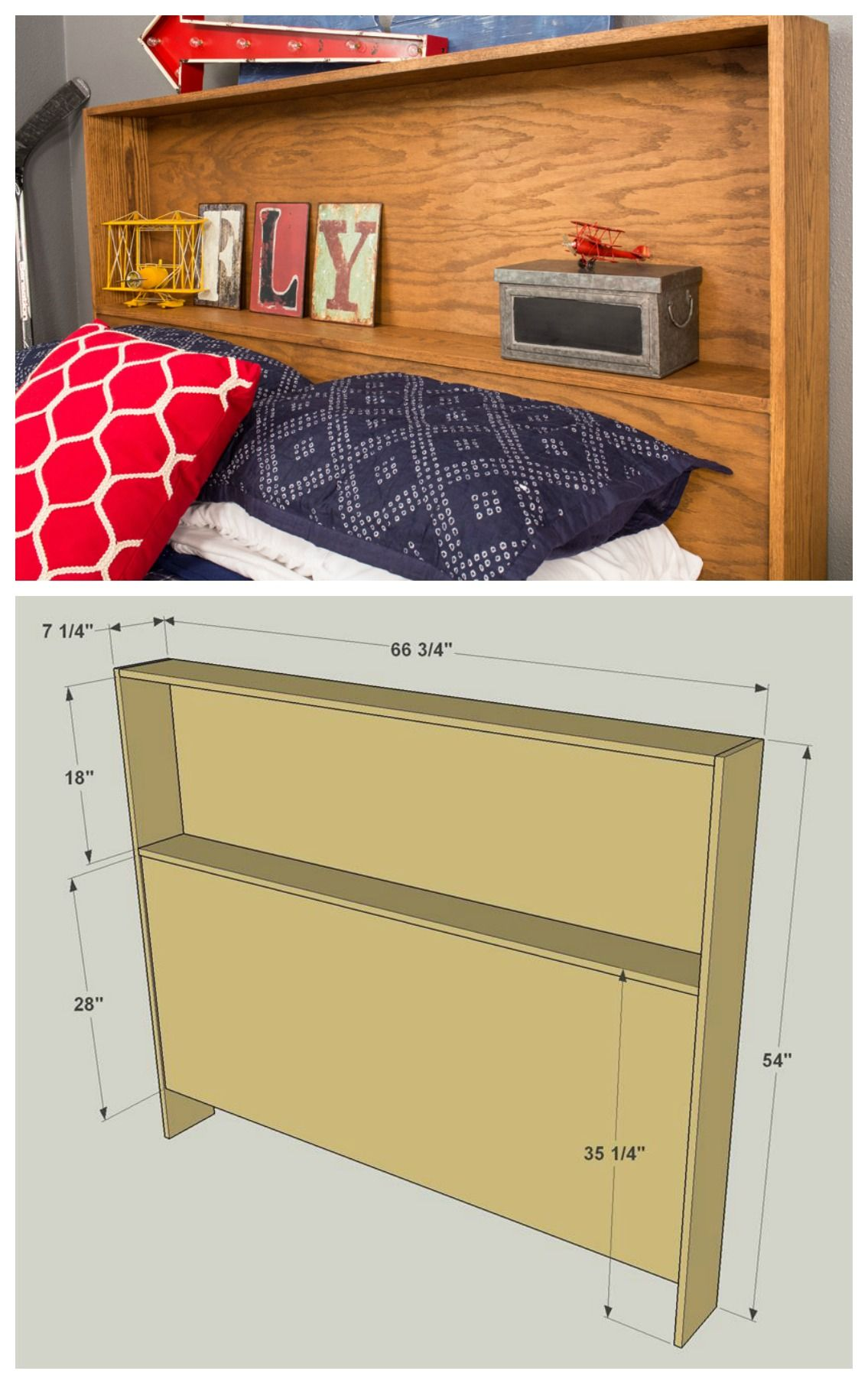 Diy storage headboard get the free plans for this project and
