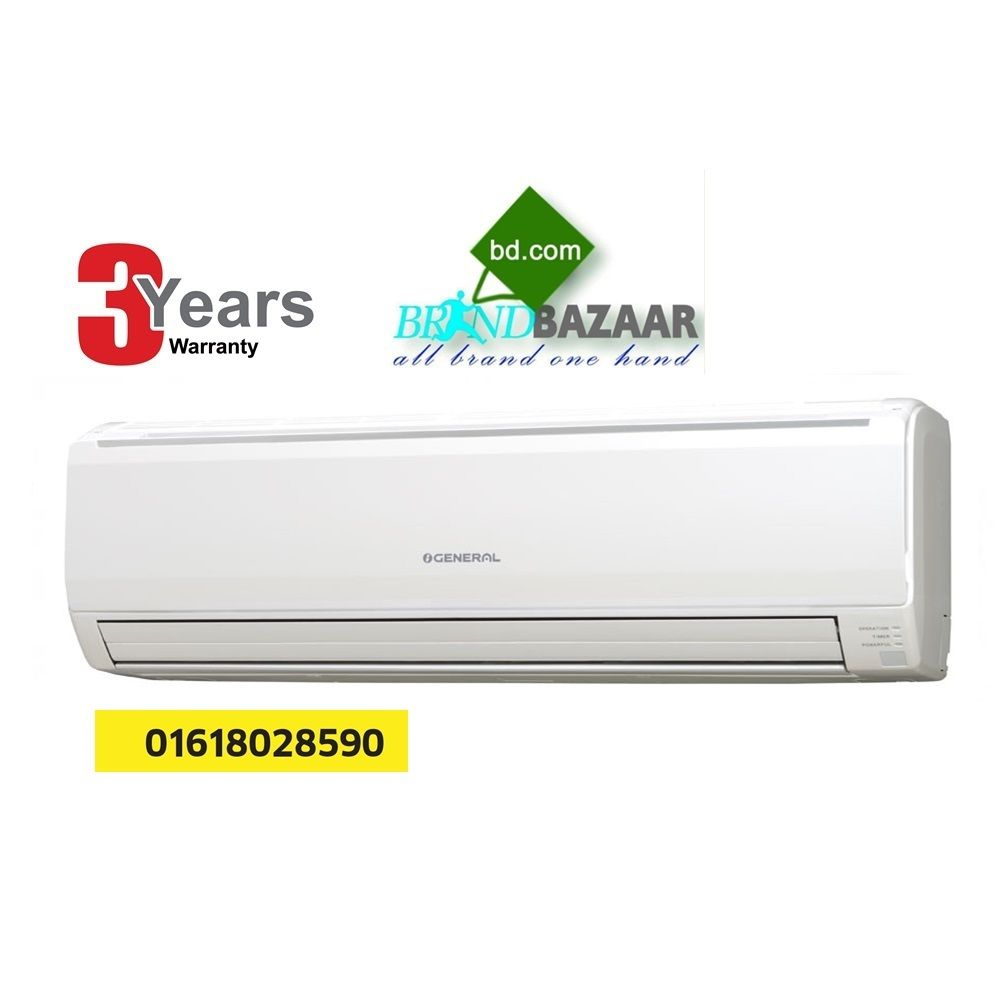 O General ASGAFETA Ton Split Air Conditioner Brand Bazaar