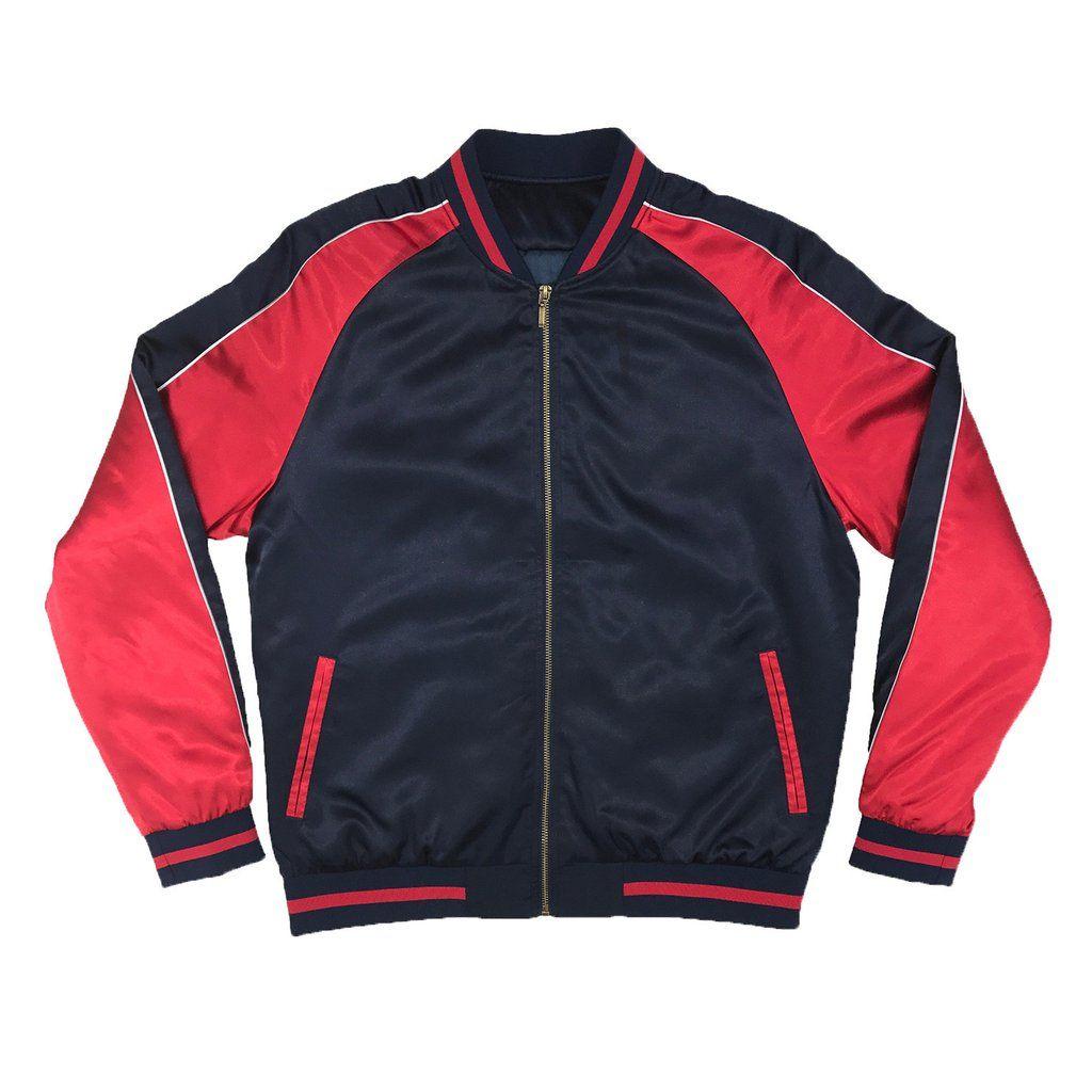 Unisex Silver//Mint New Tiger Souvenir Jacket