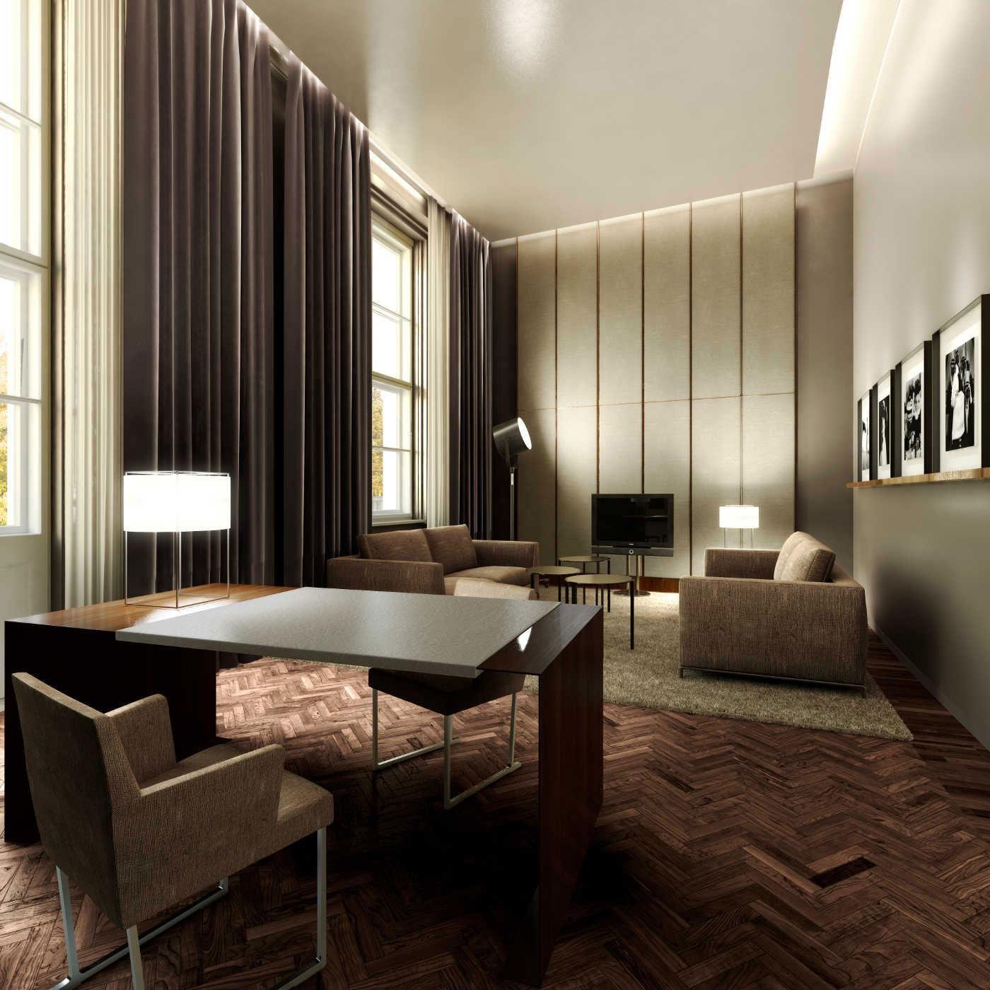 Grau Vorhange Wohnzimmer Ausgestattet Mit Parkett Auch Graue Vorhang
